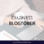Business Blogtober Cover