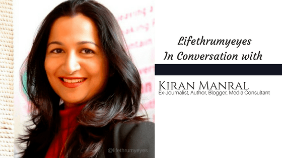 Kiran Manral- Interview with Lifethrumyeyes