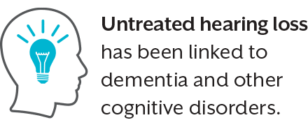 untreated hearing loss linked to dementia