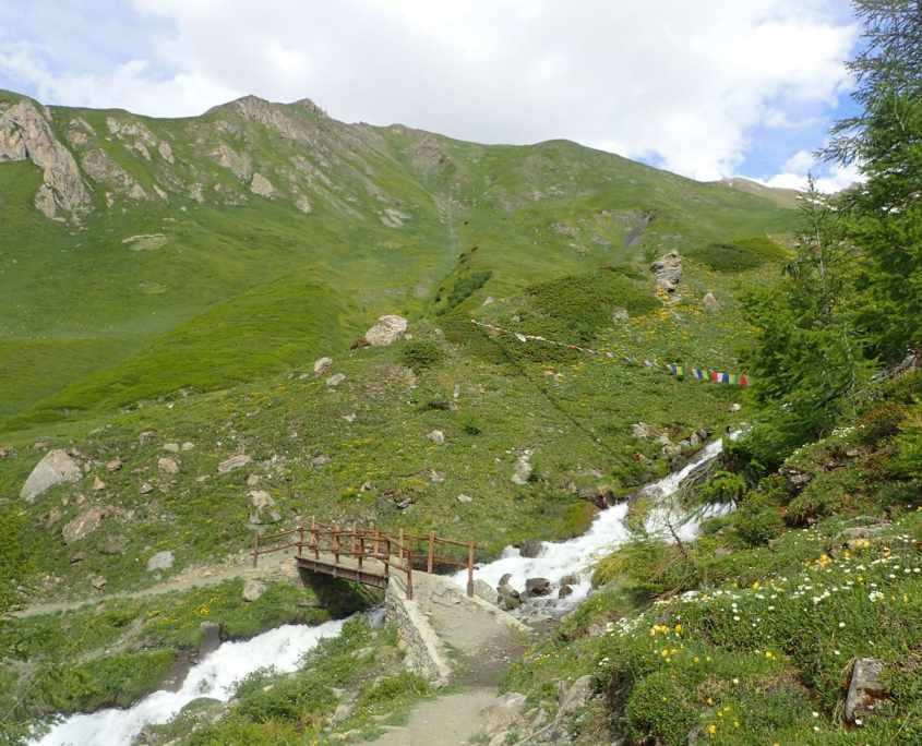 TMB day 5 - Courmayeur to Chalet Val Ferret via Monte de la Saxe