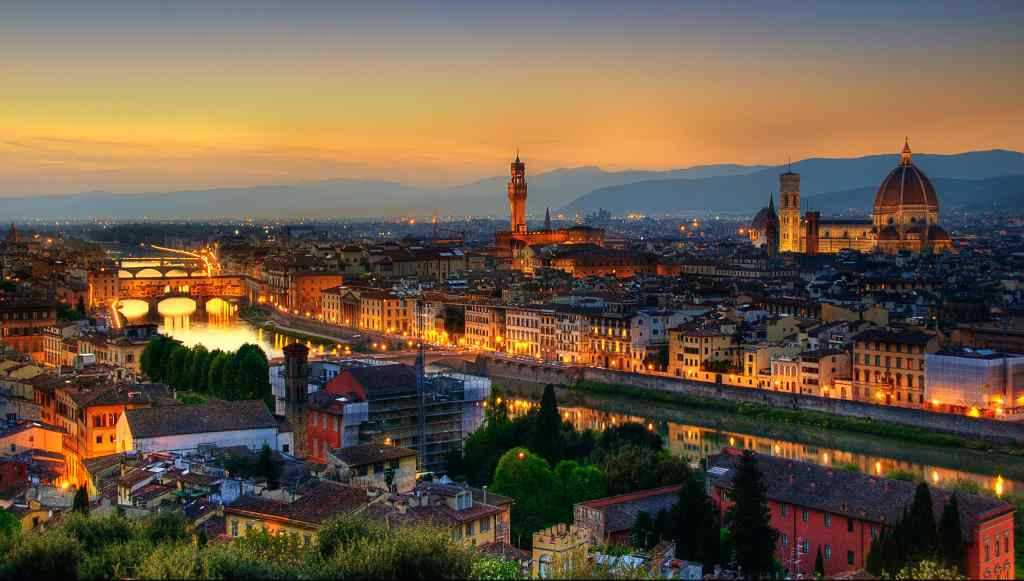 Piazzale Michelangelo in florence italy- Florence's Top Beautiful Places