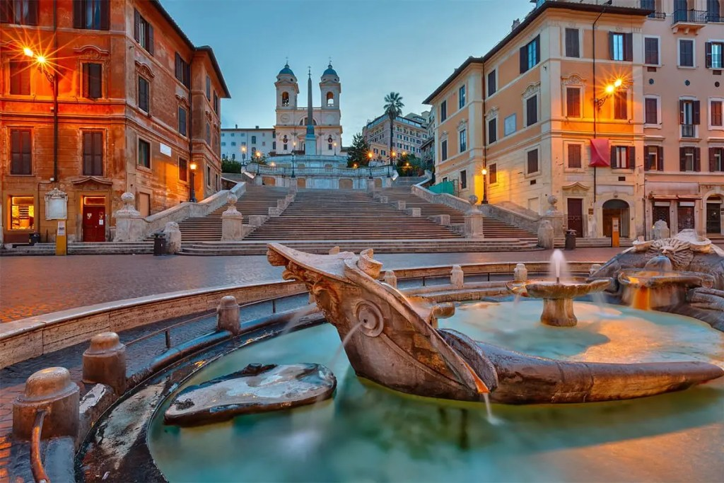 Piazza di Spagna- Spanish Steps, beautiful places to Visit in Rome, Italy