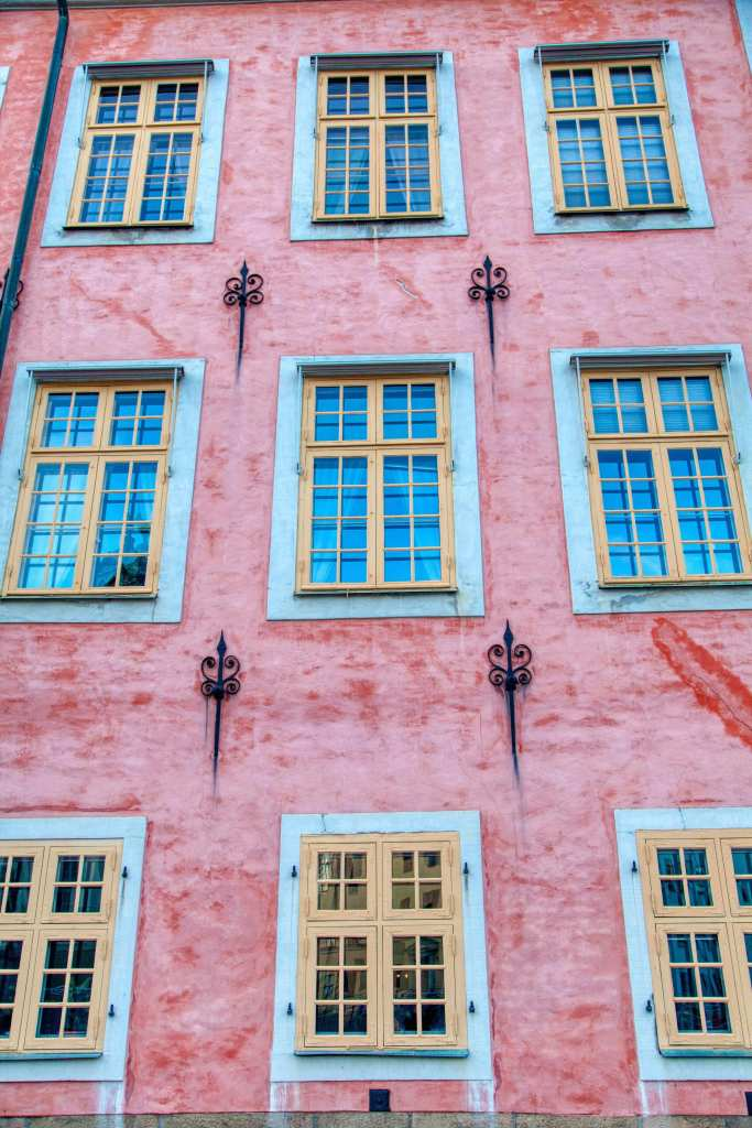The Stenbock Palaces, home to the Swedish Supreme Court on the island of Gamla Stan in Stockholm, Sweden