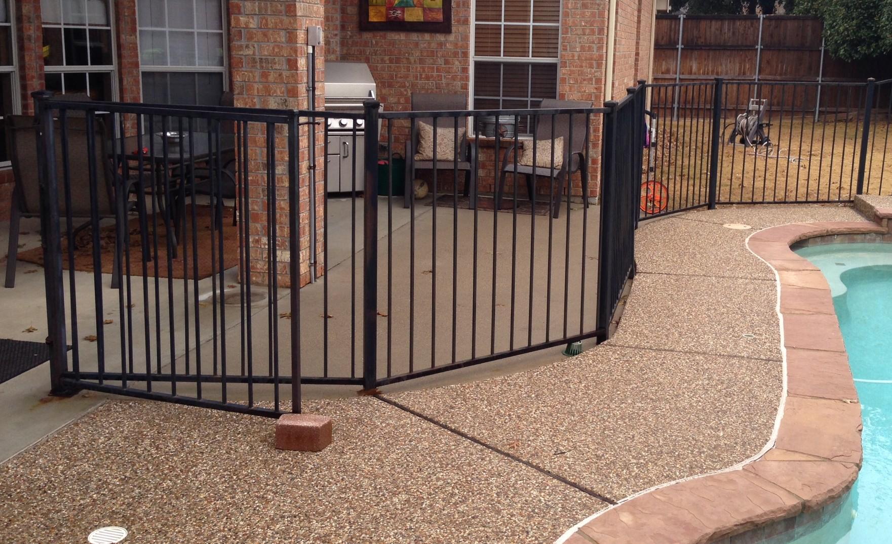 wrought iron fences lifetime fence