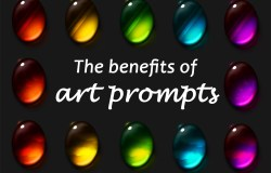 The benefits of doing art prompts