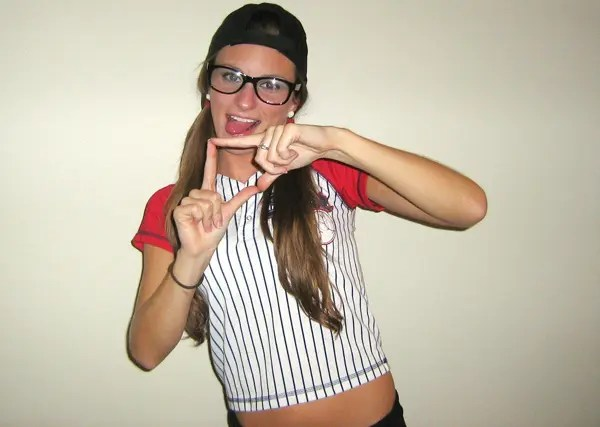 Squints from  The Sandlot  Halloween Costume  sc 1 st  Life Unsweetened & Mean Girlu0027s Burn Book Halloween Costume DIY   Life Unsweetened
