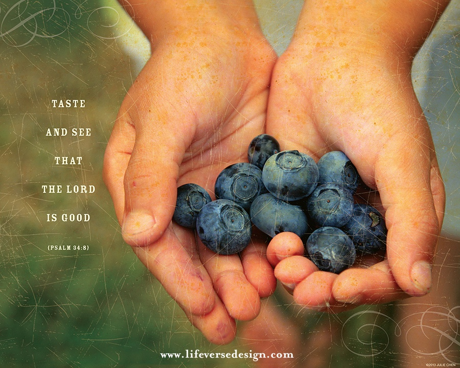 Psalm 34 Taste And See That The Lord Is Good Kitchen Religious Art
