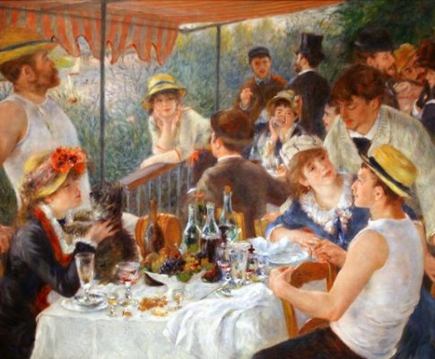 Poems inspired by Renoir