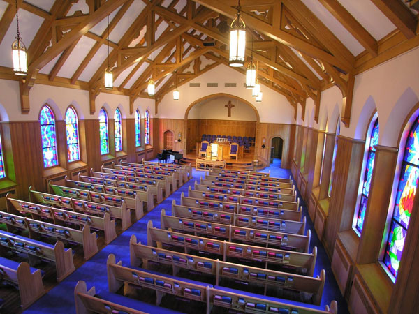 LED Church Lighting for Sanctuary