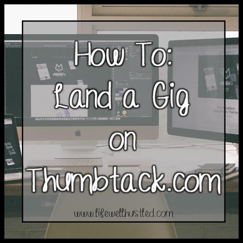 How to Land a Gig on Thumbtack.com