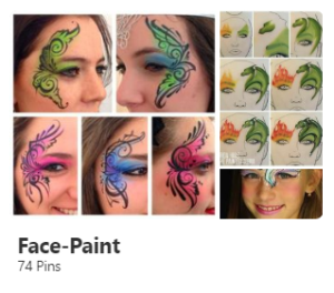designs to help you side-hustle as a face-painter
