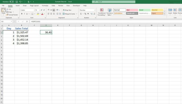 Finding Squares Roots, Cube Roots, and nth Roots in Excel
