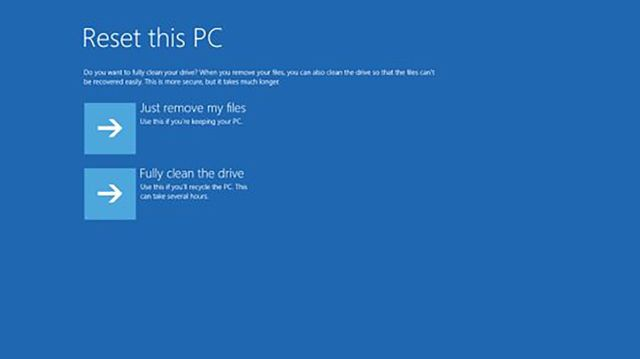 How to Factory Reset an HP Laptop