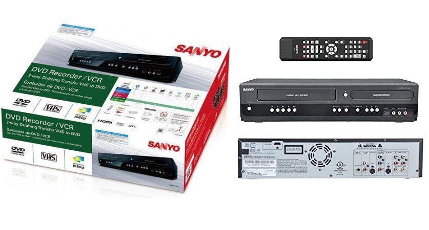Sony Manual Recorder Dvd Vhs