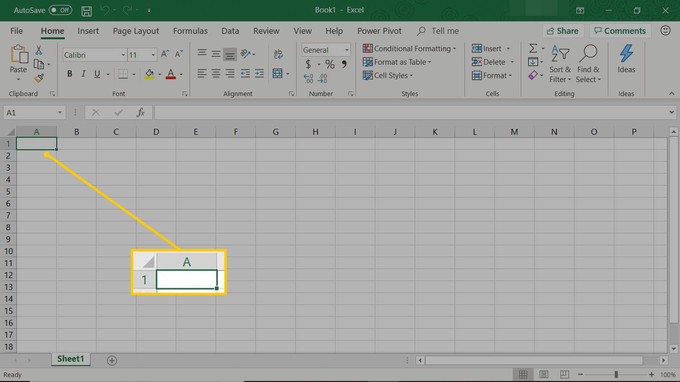 Understand The Basic Excel Screen Elements