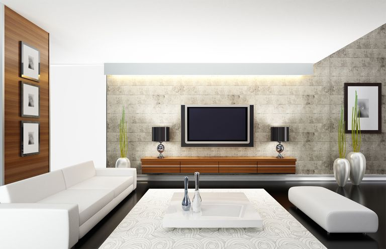 lighting for living rooms room ideas chocolate brown couch how affects tv viewing modern