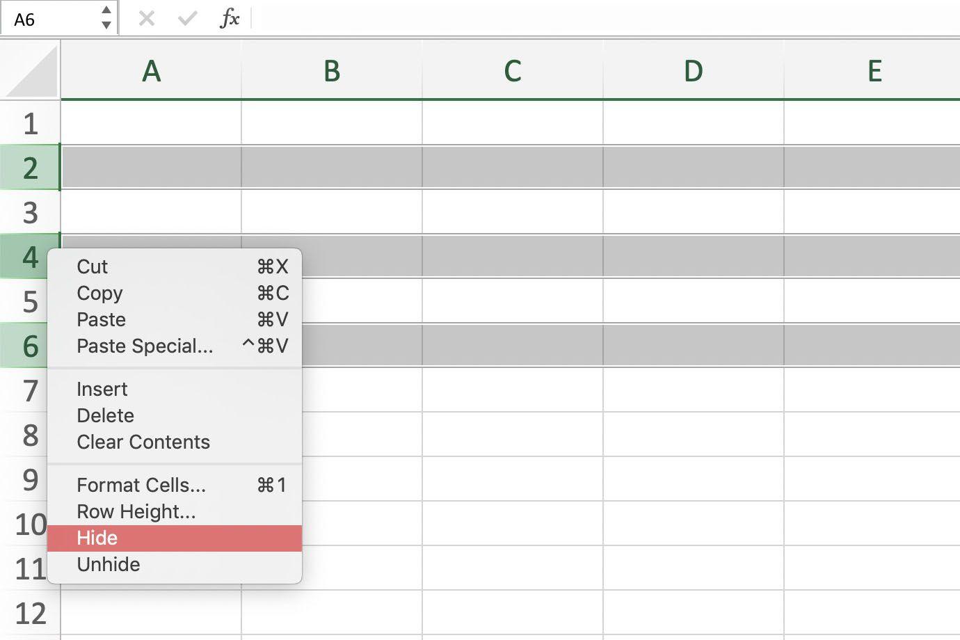 Unhide Worksheet In Excel Shortcut