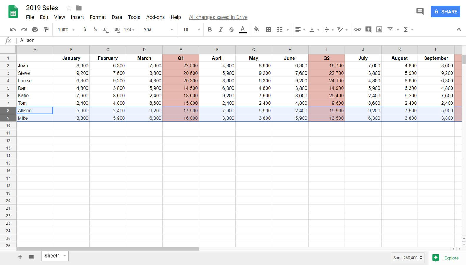 How To Hide Or Unhide Rows In Sheets