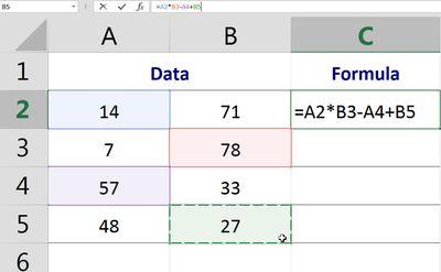 OpenOffice Calc Basic Formulas Tutorial