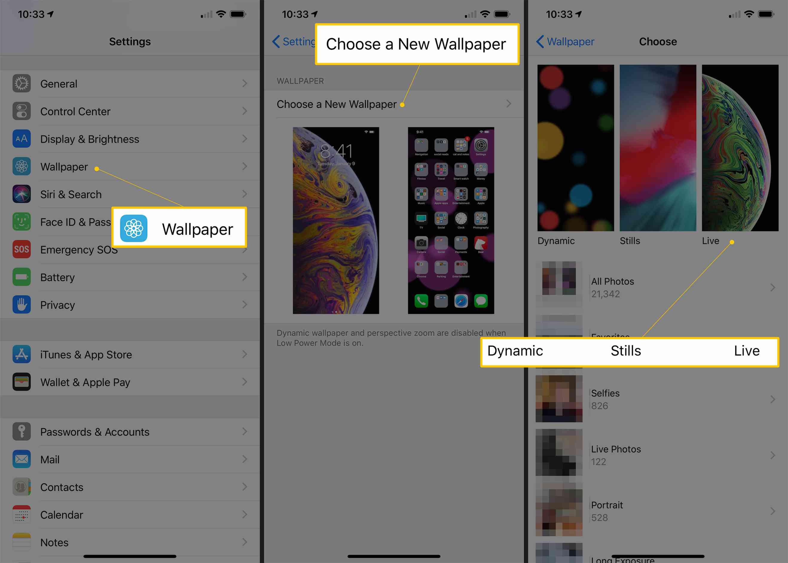 How To Use Live Wallpapers On Your Iphone
