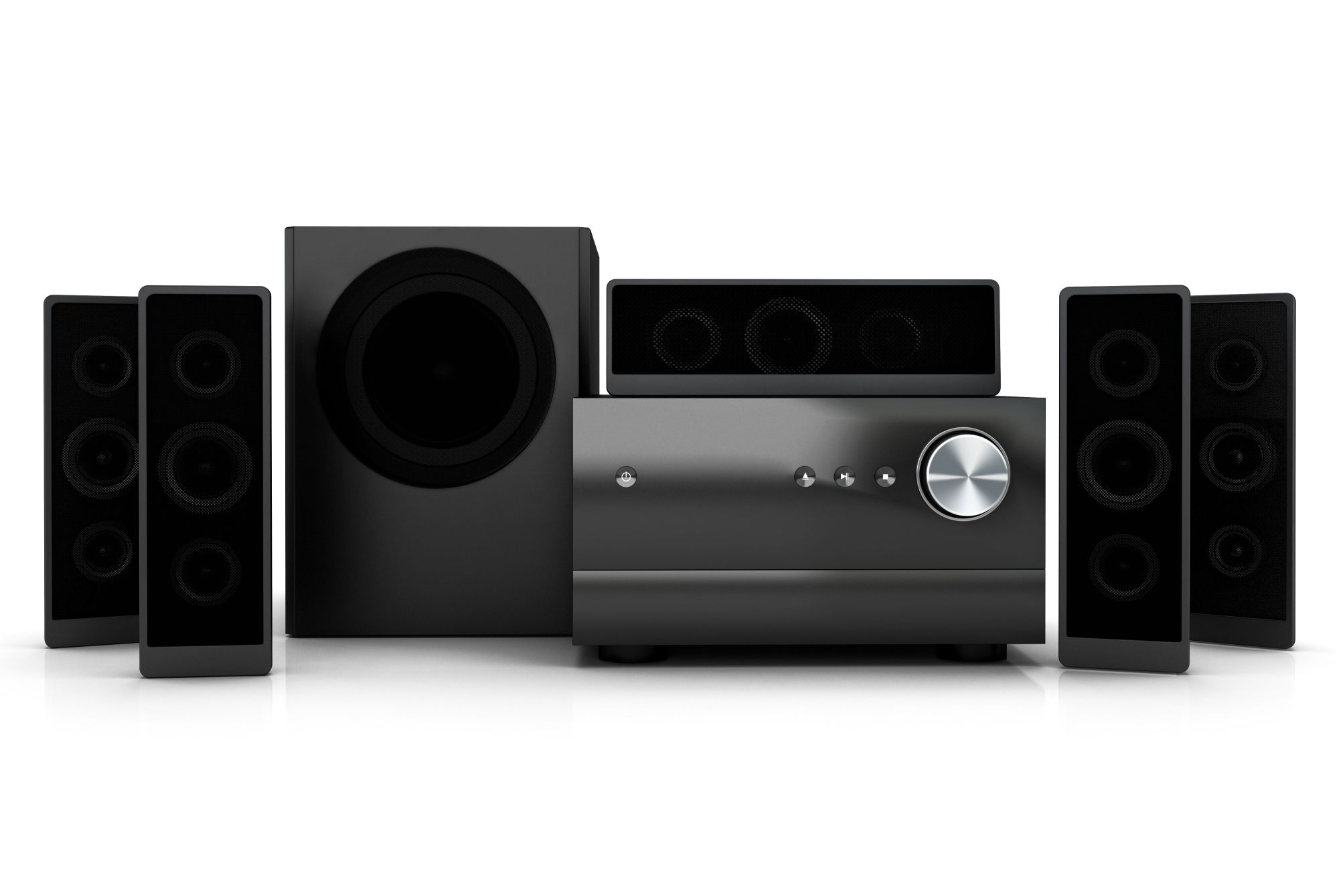 hight resolution of compact home theater system