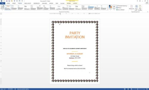 small resolution of microsoft word using border feature