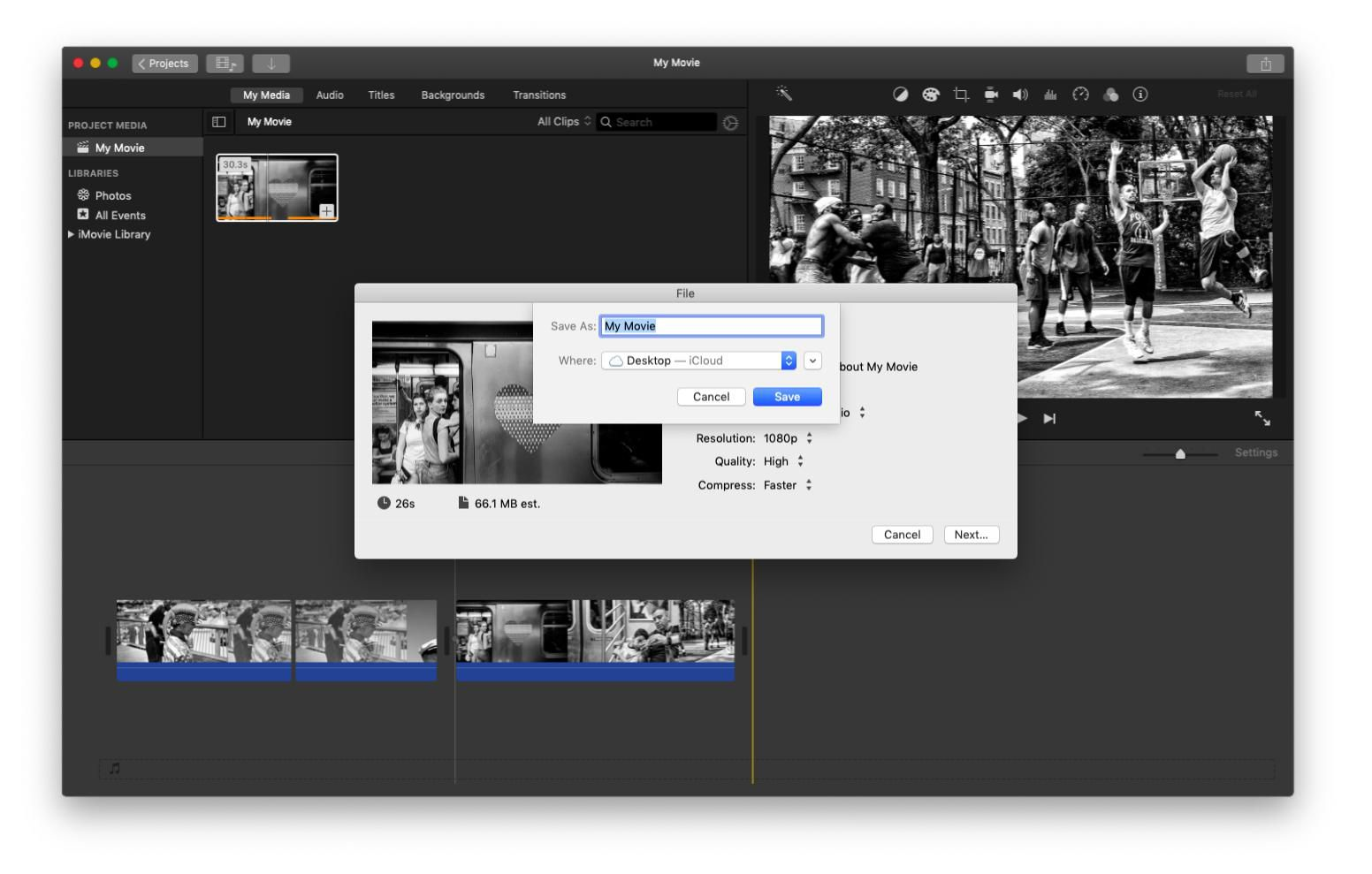 How to Export iMovie Files