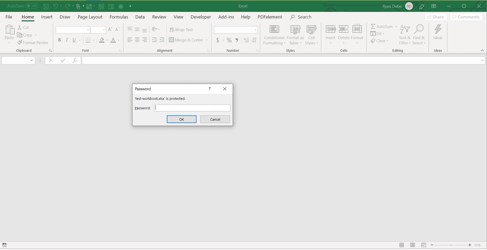 How To Password Protect An Excel File