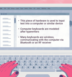 an illustration of hands on a laptop keyboard  [ 1500 x 1000 Pixel ]