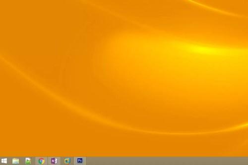 Screenshot of the Windows 8 desktop