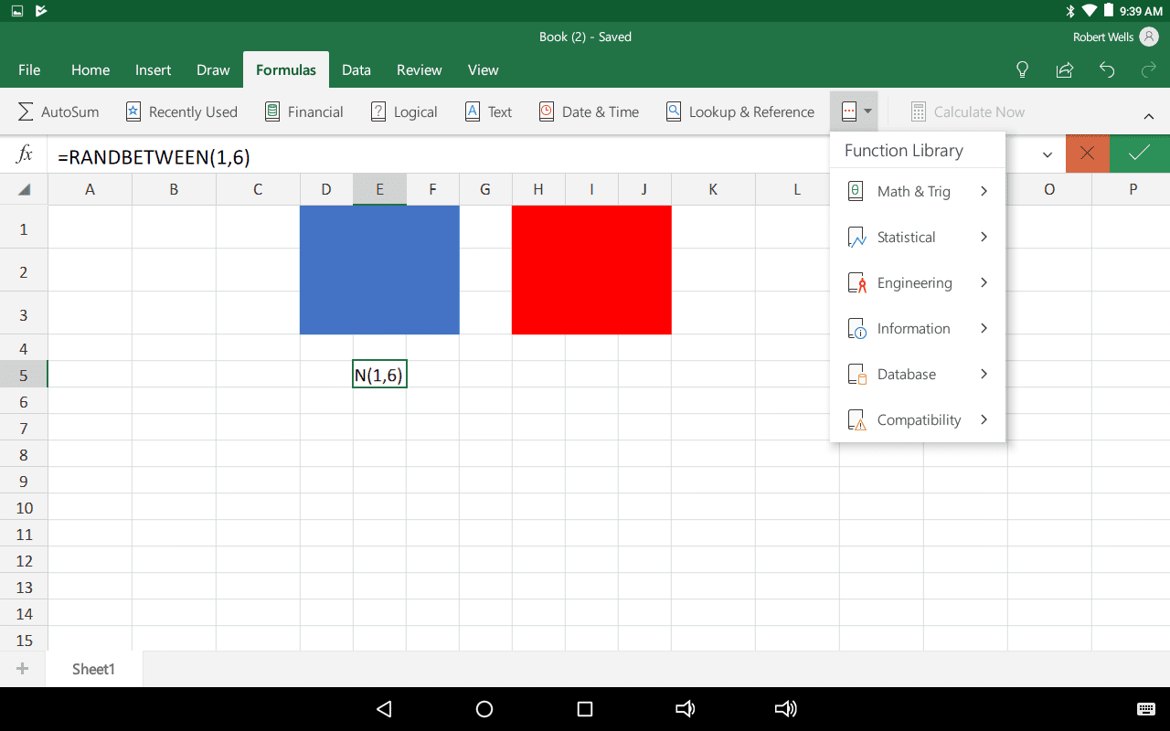 Excel Dice Roller Function Tutorial