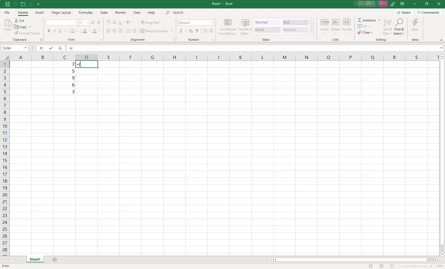 Step-by-Step Guide to Excel Formulas for Beginners