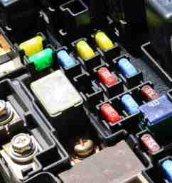 fuses in an automobile s fuse box [ 2122 x 1412 Pixel ]