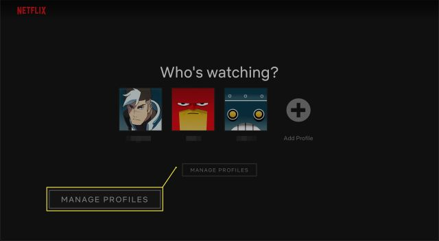How to Delete a Netflix Profile