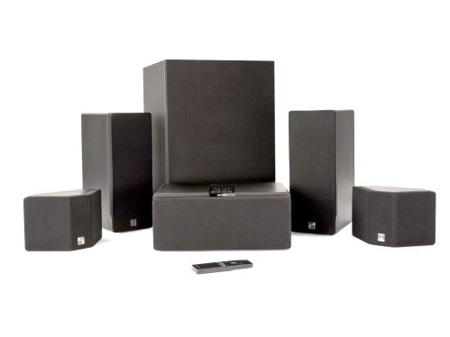 small resolution of enclave audio cinehome 5 1 wire free home theater system package