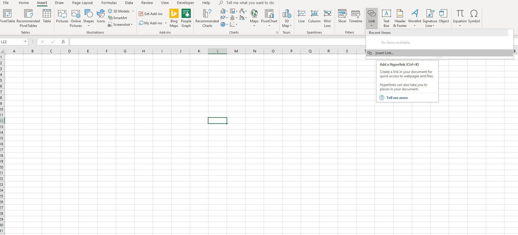 Excel Hyperlinks Bookmarks And Mailto Links