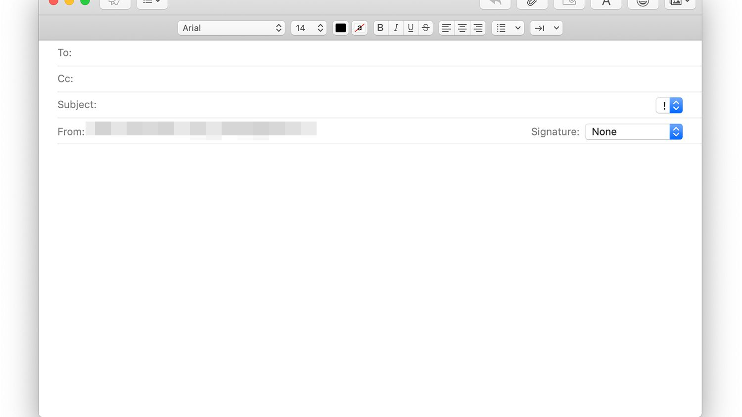 How To Add Bcc Recipients In Macos Mail