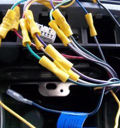 close up of kia radio wiring [ 4288 x 3216 Pixel ]