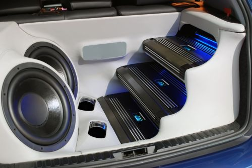 small resolution of car audio wiring subwoofer battery
