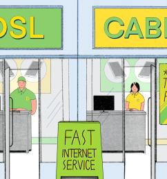 dsl vs cable broadband internet speed comparison [ 1500 x 1000 Pixel ]