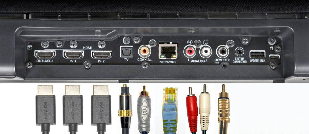 medium resolution of advanced sound bar connections