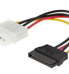 picture of a molex to sata adapter from cablecreation [ 1200 x 800 Pixel ]