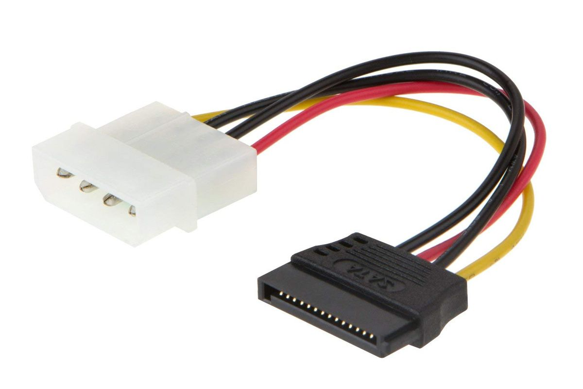 hight resolution of picture of a molex to sata adapter from cablecreation