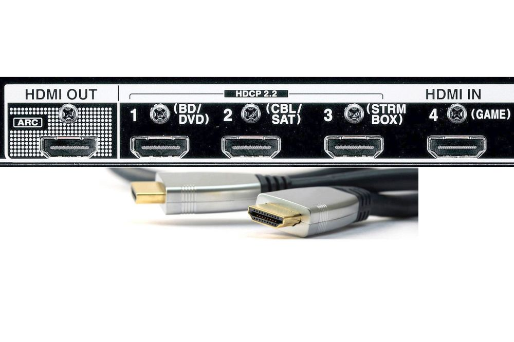 medium resolution of blu ray disc player audio connections hdmi connection to home theater receiver