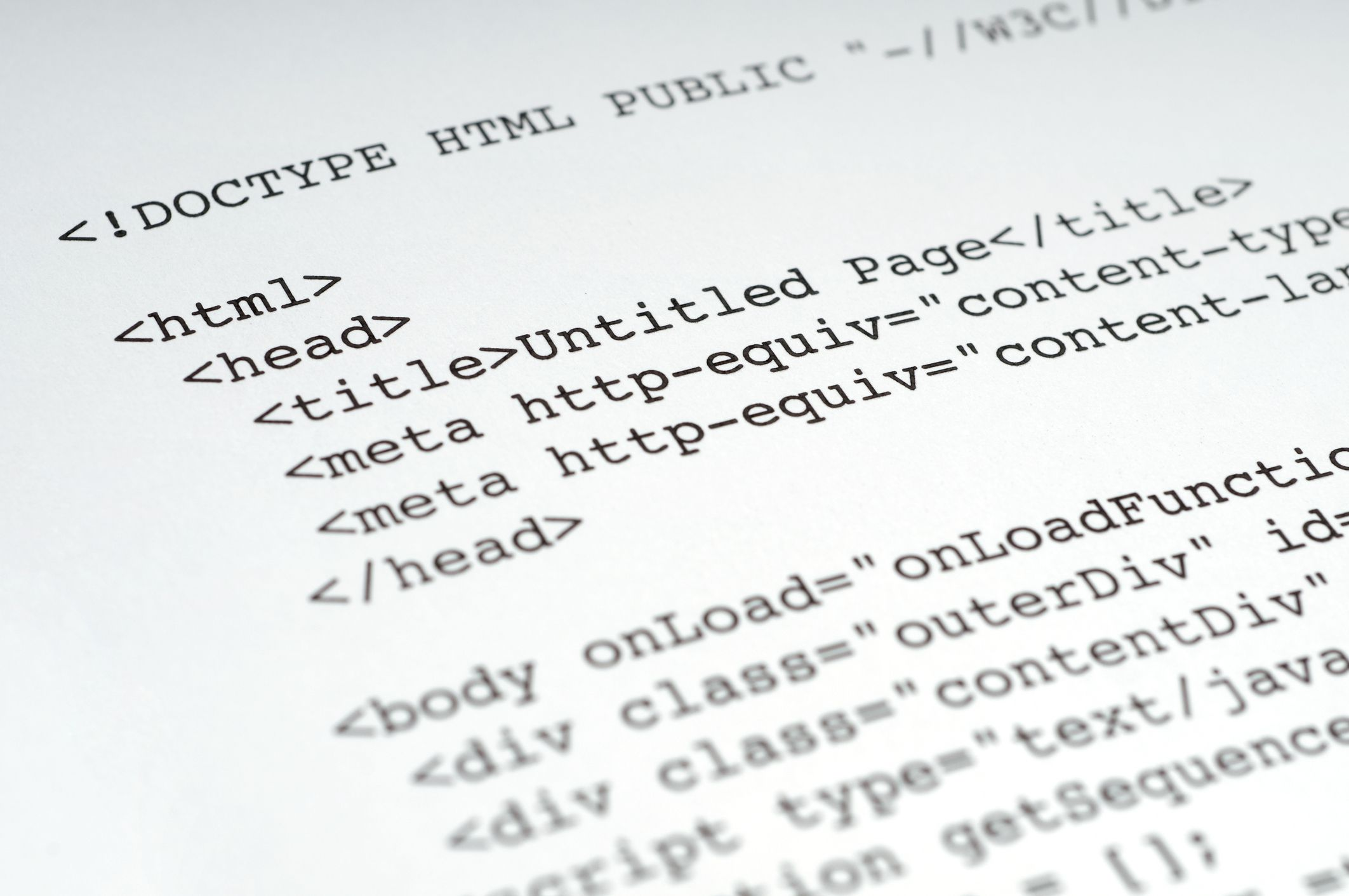 The Basics of HTML Writing