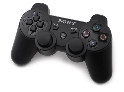 small resolution of sony dualshock ps3 controller on a white background