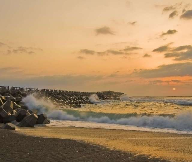 Misawa Beach By Desktop Wallpaper Hd