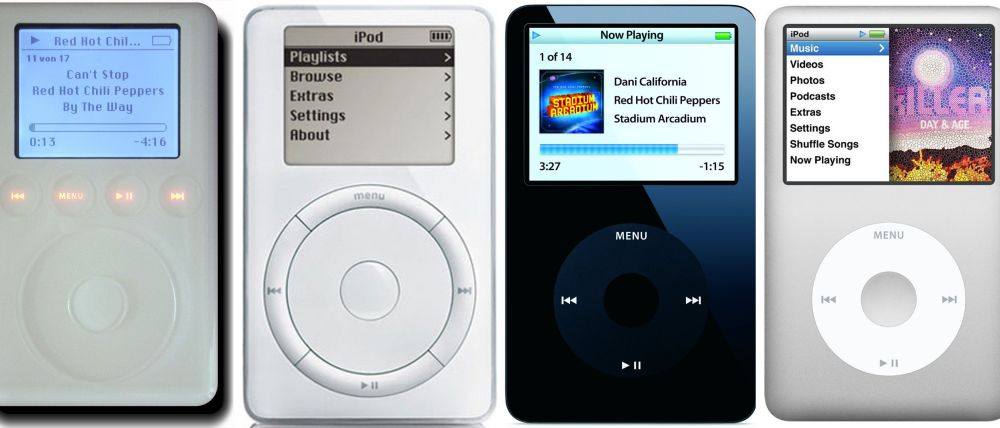 medium resolution of history of the ipod from the first ipod to the ipod classic