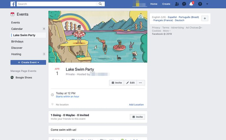 what are facebook events