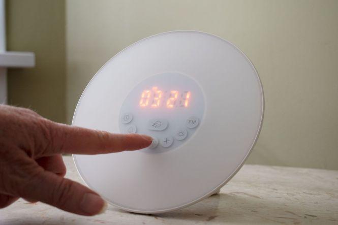 Full Spectrum Light Alarm Clock Unique Alarm Clock
